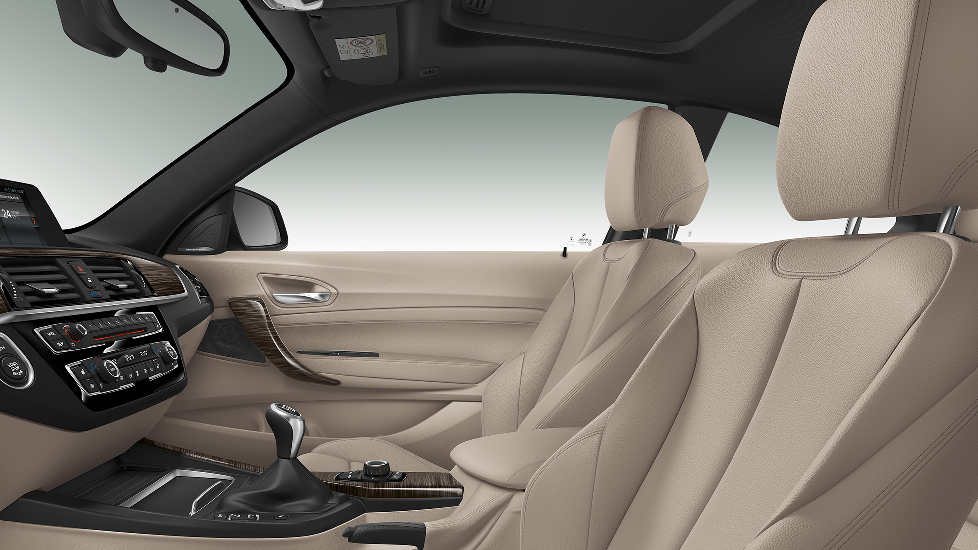 BMW 2 Series Coupé, Model Luxury Line interior
