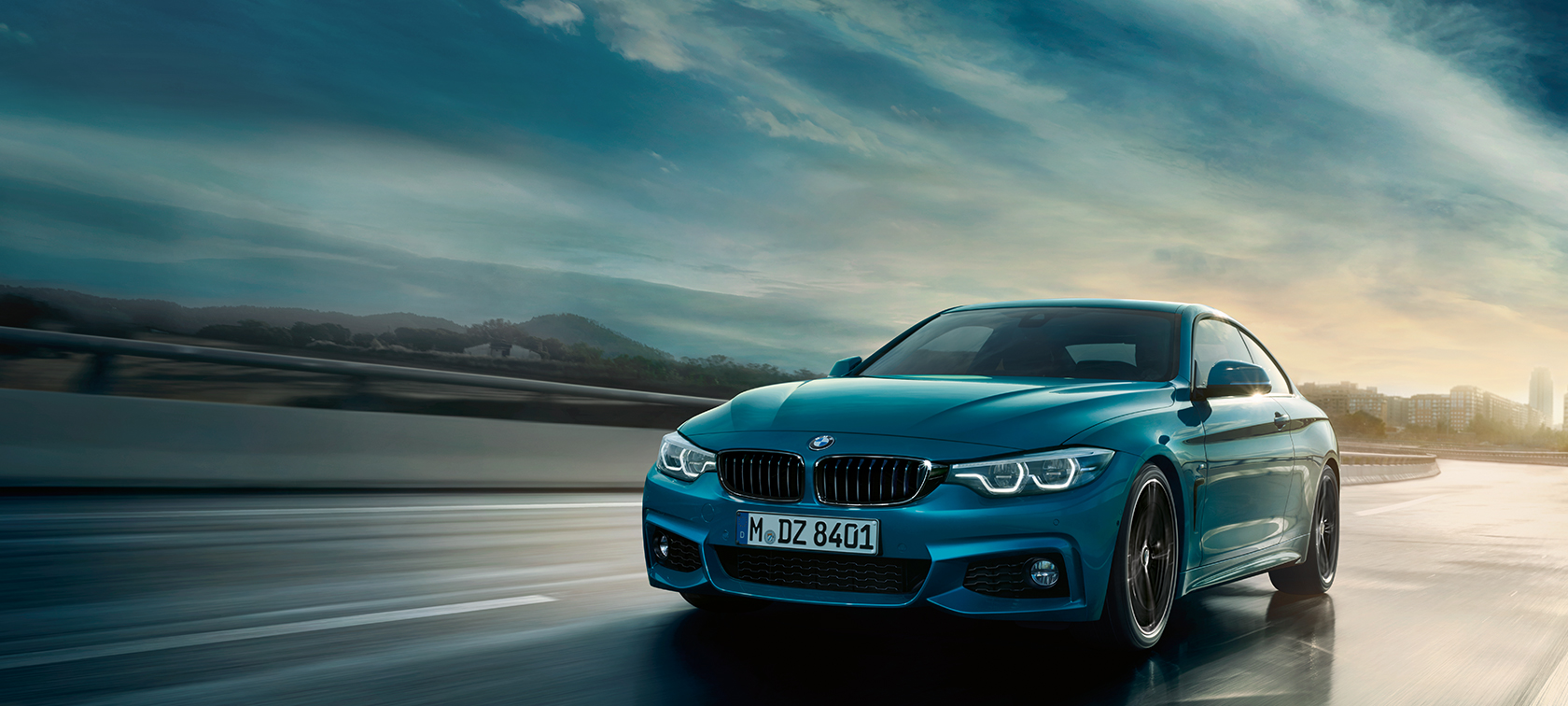 BMW 4 Series Coupé driving shot