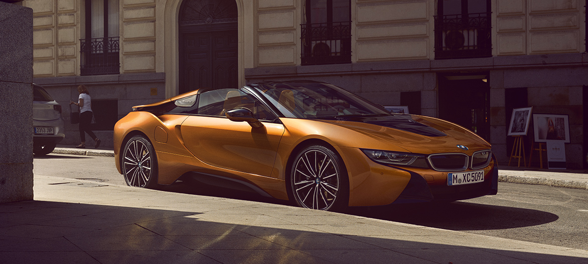 bmw i8 roadster the new version of the plug in hybrid rh bmw co nz