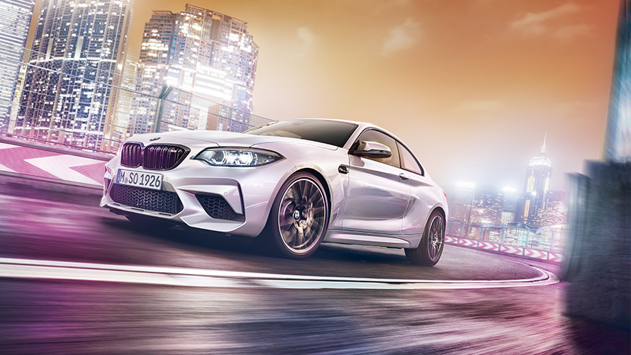 BMW M2 Competition  sports car agility