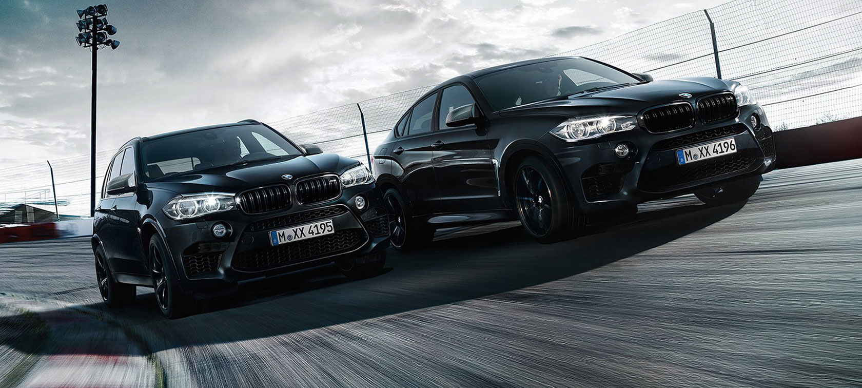 BMW X5M and BMW X6M Black Fire Edition