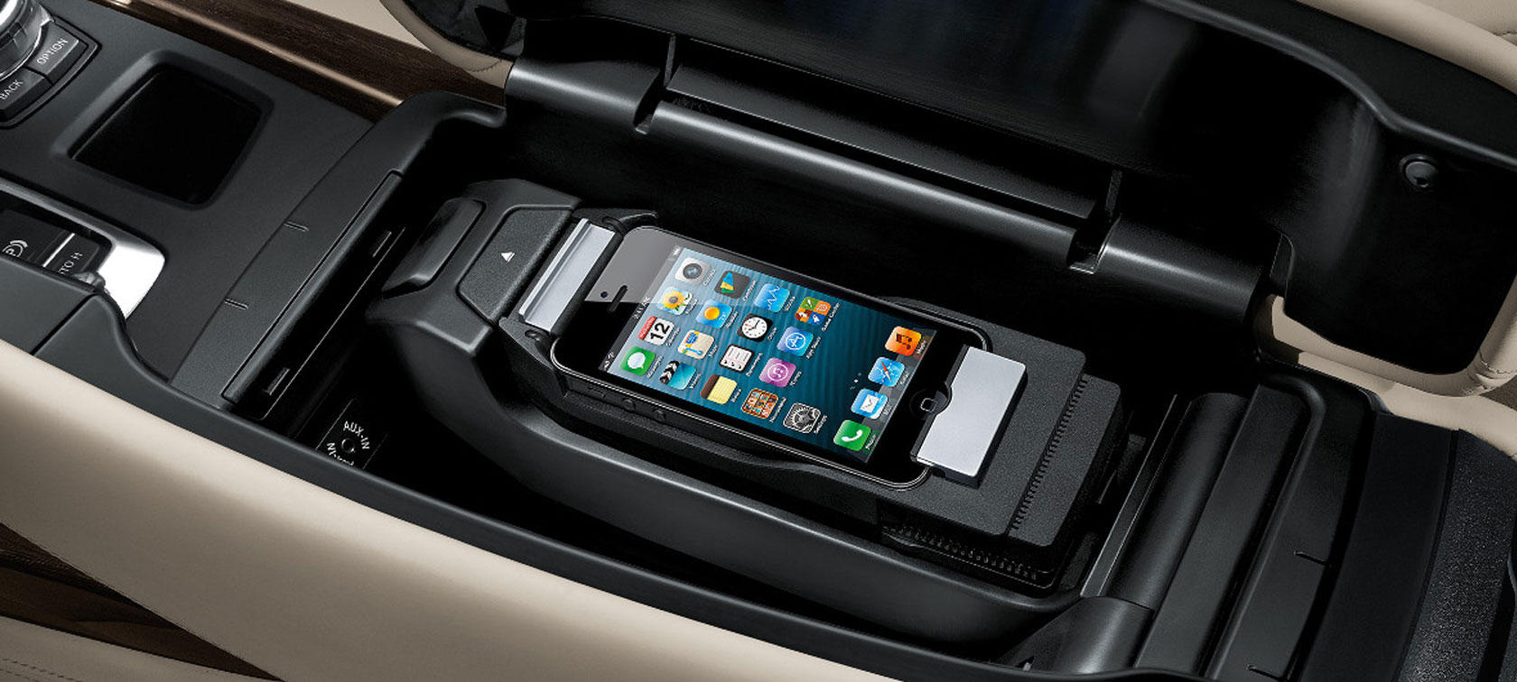 BMW 5 Series: Mobile communication devices in the vehicle