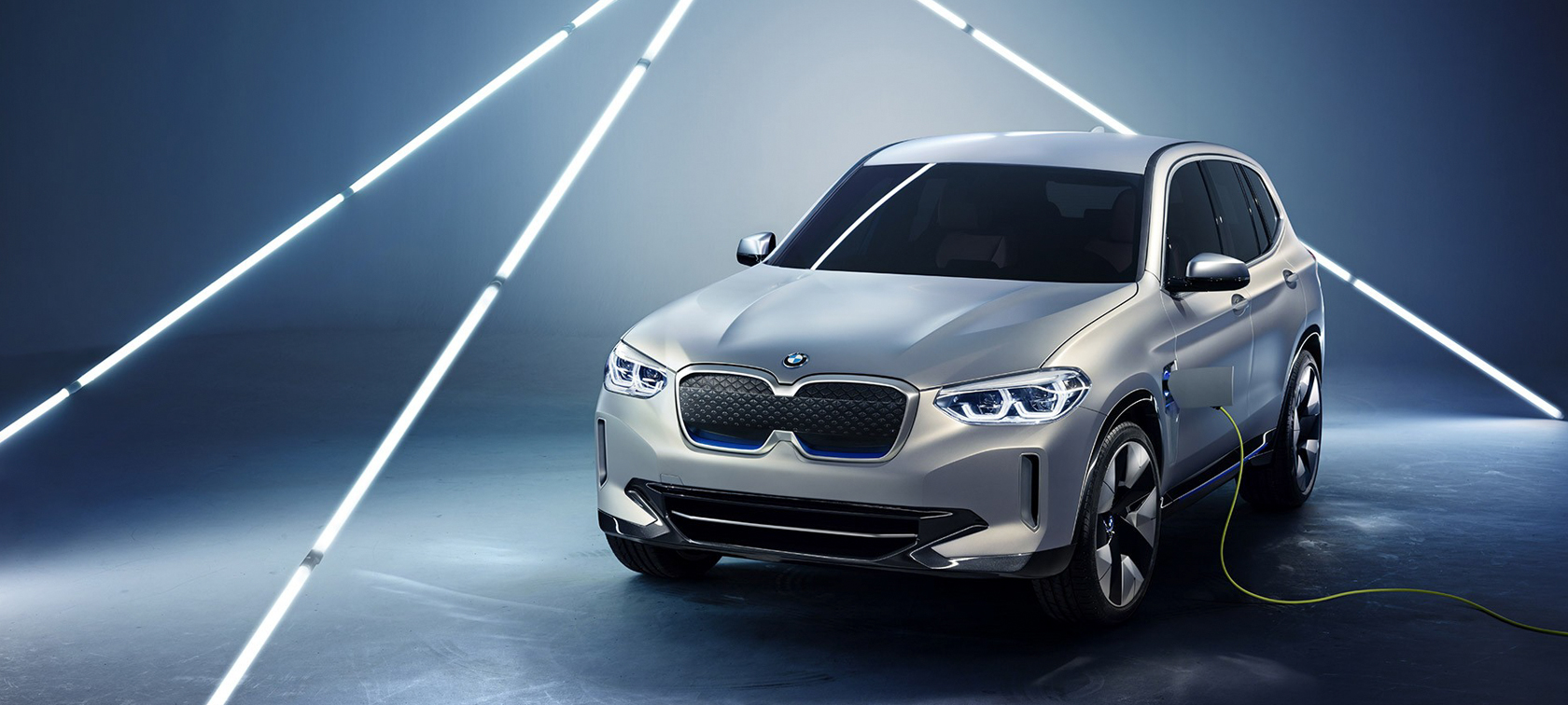 THE ALL ELECTRIC BMW CONCEPT iX3.